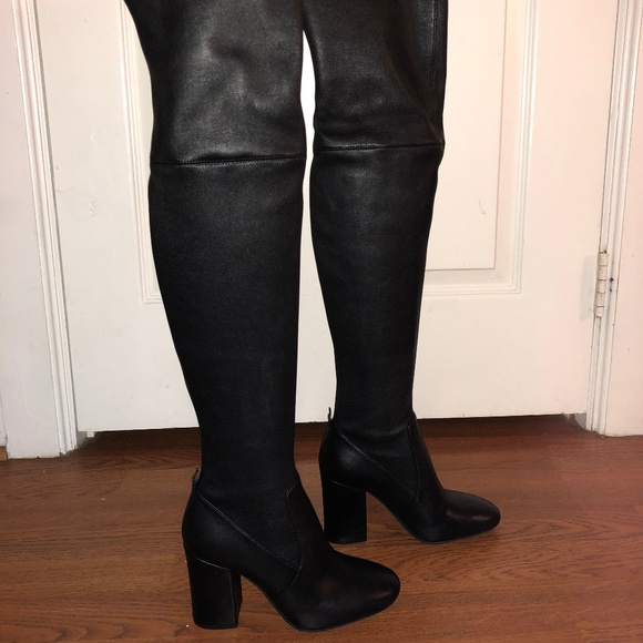 a929cb80bee Coach Shoes - Coach Giselle Over-The-Knee Leather Boot